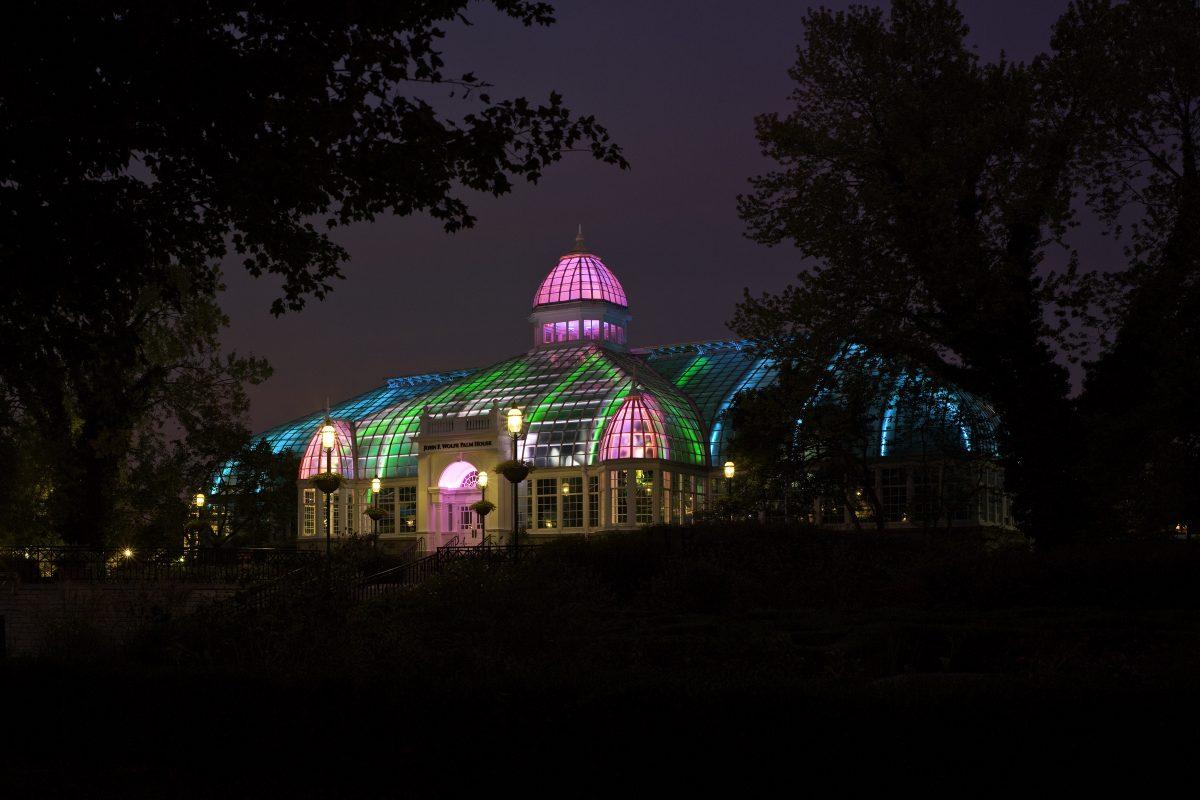 Franklin Park Conservatory Christmas Lights.Light Raiment Ii Franklin Park Conservatory And Botanical