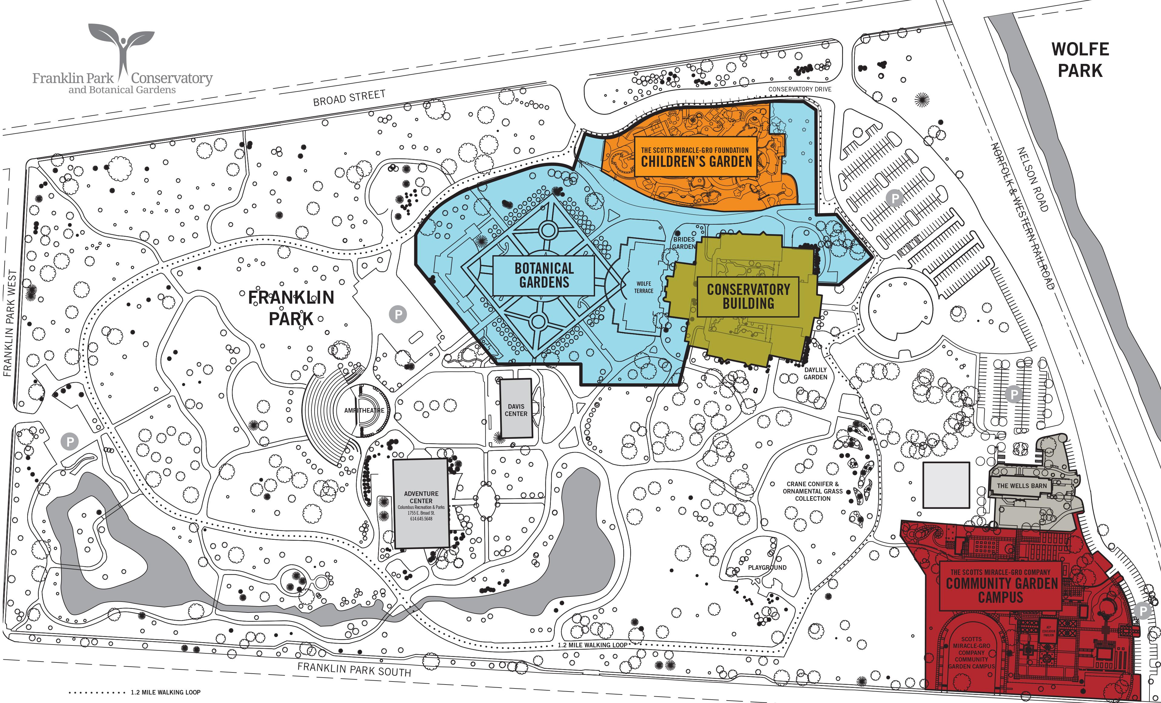 Plan a Visit | Franklin Park Conservatory and Botanical Gardens